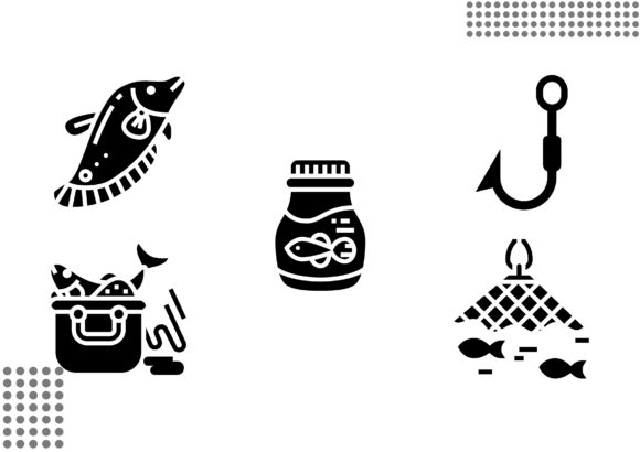 Fishing Fill Graphic Icons By cool.coolpkm3