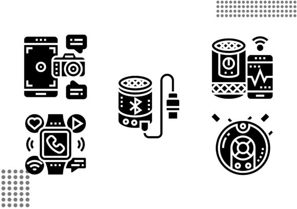 Download Free Gadgets Fill Graphic By Cool Coolpkm3 Creative Fabrica for Cricut Explore, Silhouette and other cutting machines.