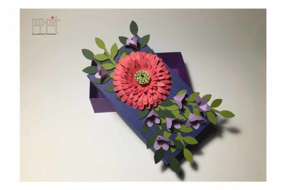 Gerbera Box Graphic 3D Flowers By patrizia.moscone