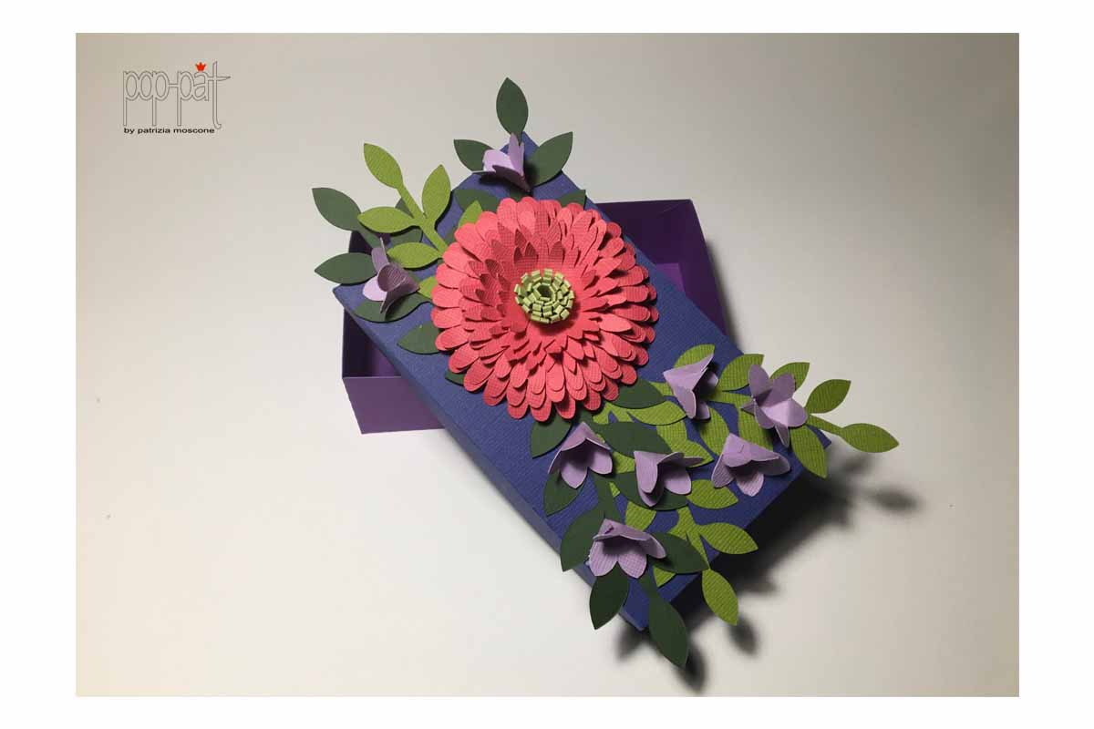 Download Free Gerbera Box Graphic By Patrizia Moscone Creative Fabrica for Cricut Explore, Silhouette and other cutting machines.