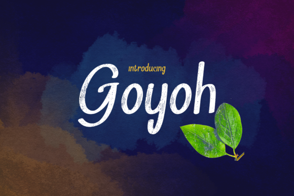 Download Free Goyoh Font By Skala Studio Creative Fabrica for Cricut Explore, Silhouette and other cutting machines.
