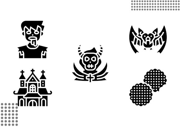 Download Free 226 Creepy Designs Graphics for Cricut Explore, Silhouette and other cutting machines.