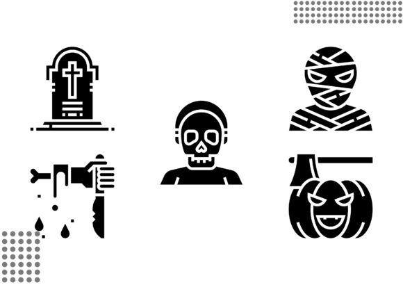Download Free Halloween Fill Graphic By Cool Coolpkm3 Creative Fabrica for Cricut Explore, Silhouette and other cutting machines.