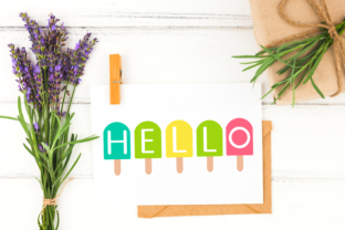 Hello Popcicle ClipArt Graphic Illustrations By Miss Cherry Designs 2
