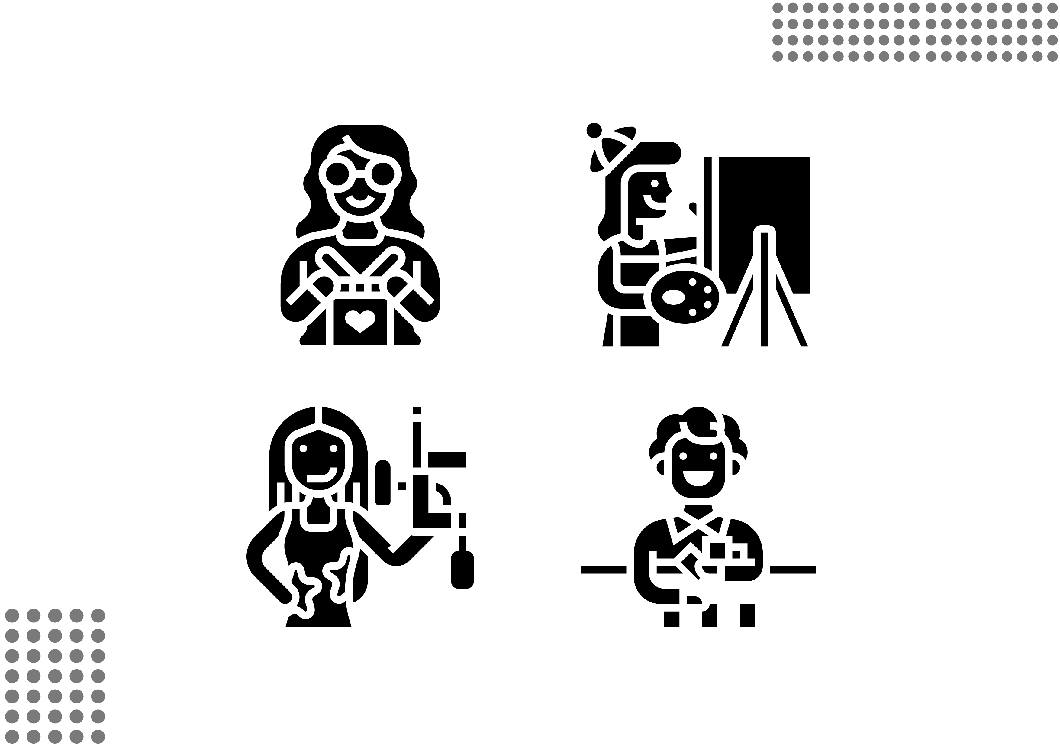 Hobbies Men Objects Sport Tourism Coding Grayscale Stock Vector -  Illustration of tourism, white: 139381885