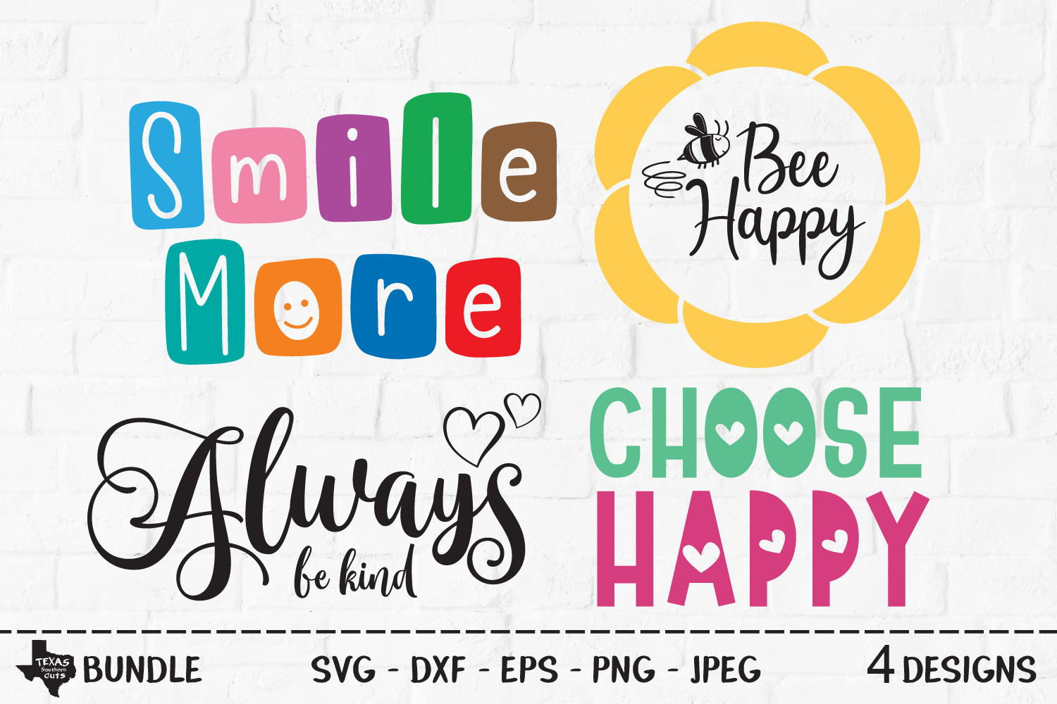 Download Free Inspirational Sayings Bundle Graphic By Texassoutherncuts for Cricut Explore, Silhouette and other cutting machines.