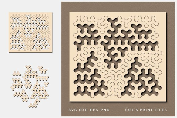 Download Free Jigsaw Puzzles Graphic By 2dooart Creative Fabrica for Cricut Explore, Silhouette and other cutting machines.