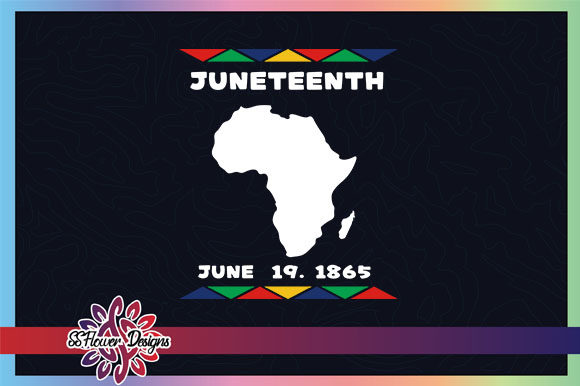 Download Free Juenteenth Africa Map Graphic Graphic By Ssflower Creative Fabrica SVG Cut Files
