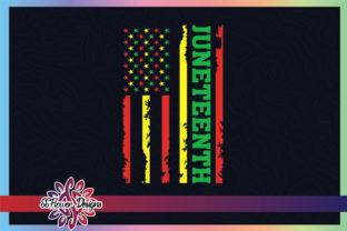 Juneteenth American Flag Graphic Graphic Crafts By ssflower