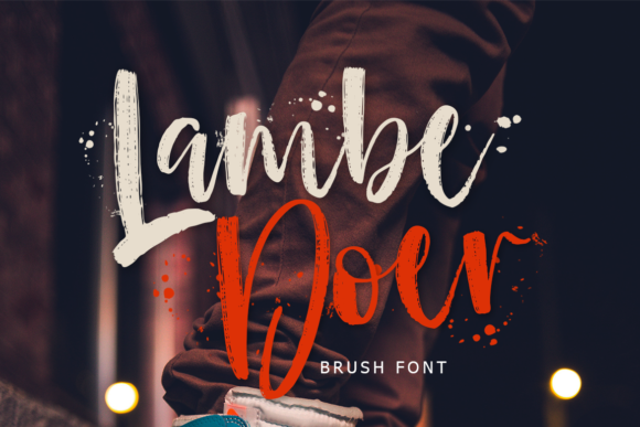 Print on Demand: Lambe Doer Script & Handwritten Font By lyanatha