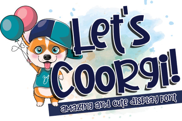 Download Free Let S Coorgi Font By Stefani Letter Creative Fabrica for Cricut Explore, Silhouette and other cutting machines.