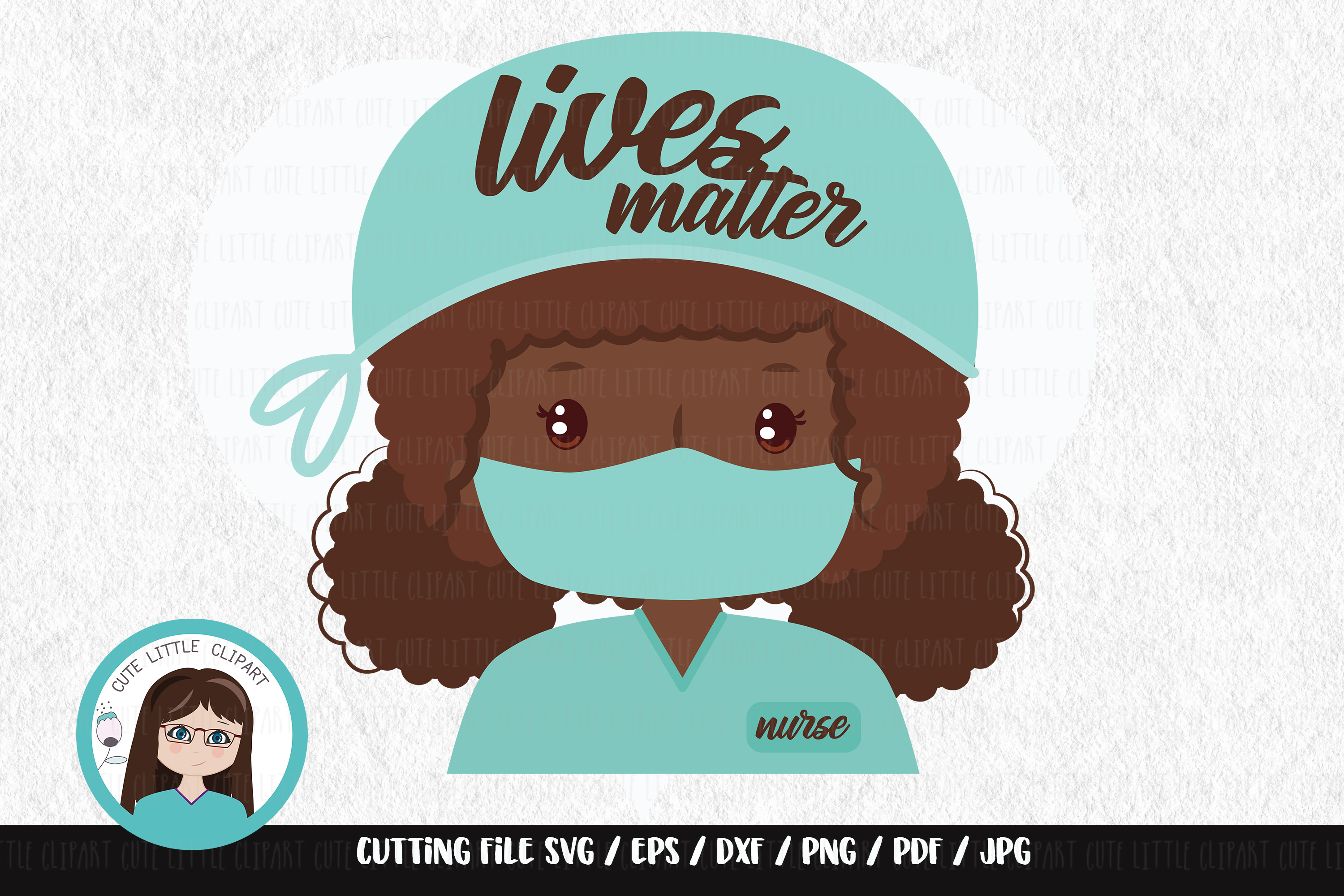 Download Free Lives Matter Nurse Graphic By Cutelittleclipart Creative Fabrica for Cricut Explore, Silhouette and other cutting machines.