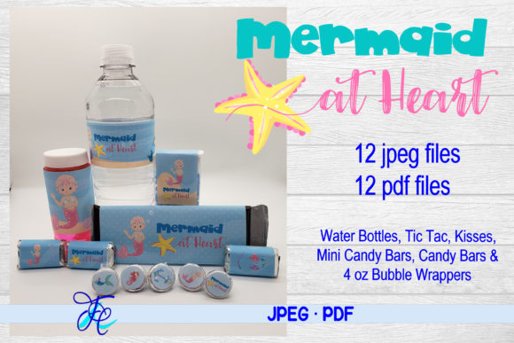 Mermaid at Heart Bundle Graphic Crafts By Family Creations
