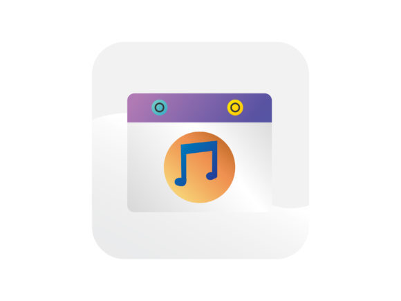 Download Free Music Player Button Icon Graphic By Samagata Creative Fabrica for Cricut Explore, Silhouette and other cutting machines.