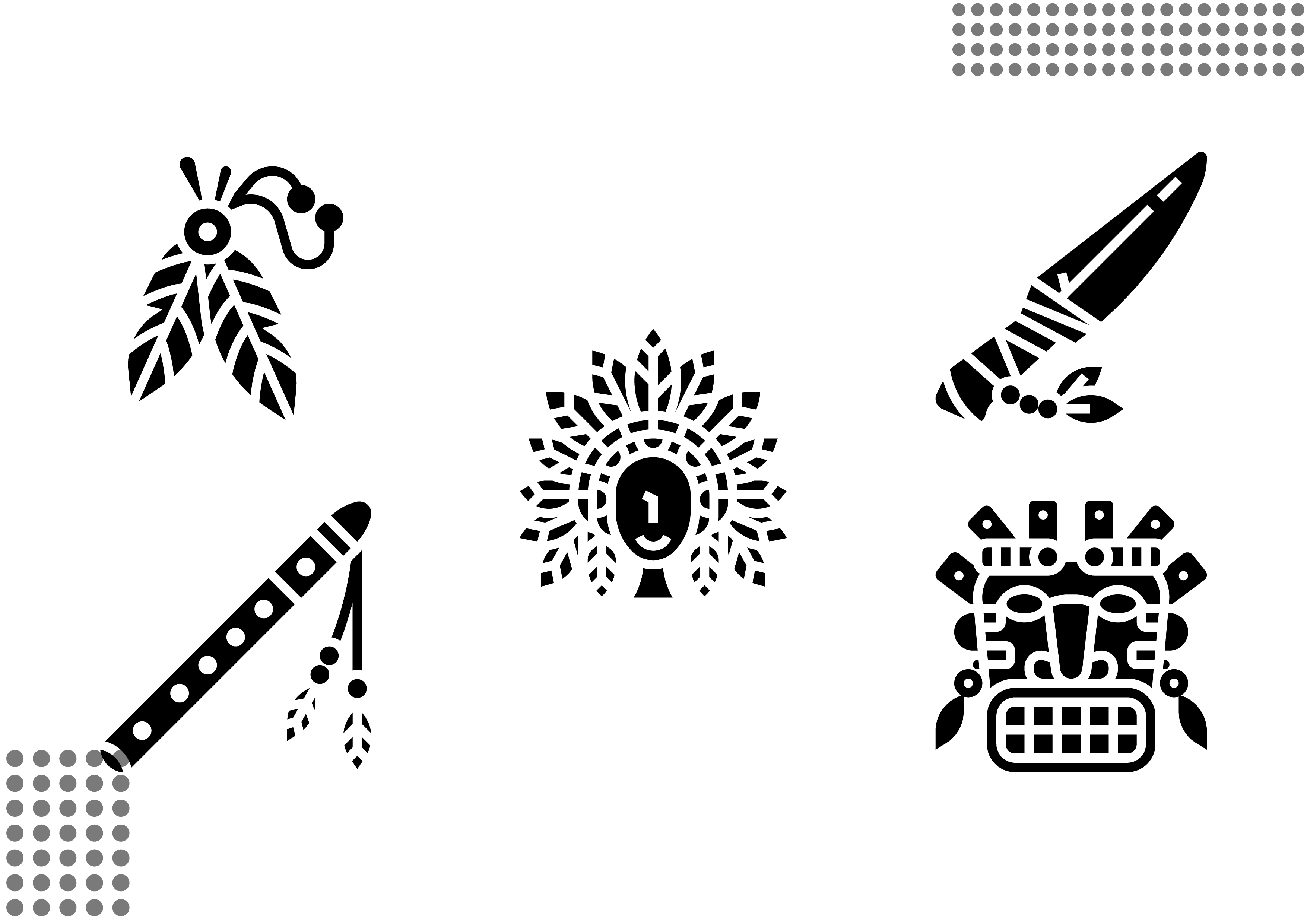 Download Free Native American Fill Graphic By Cool Coolpkm3 Creative Fabrica for Cricut Explore, Silhouette and other cutting machines.
