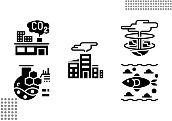 Nuclear Elements Fill Graphic Icons By cool.coolpkm3