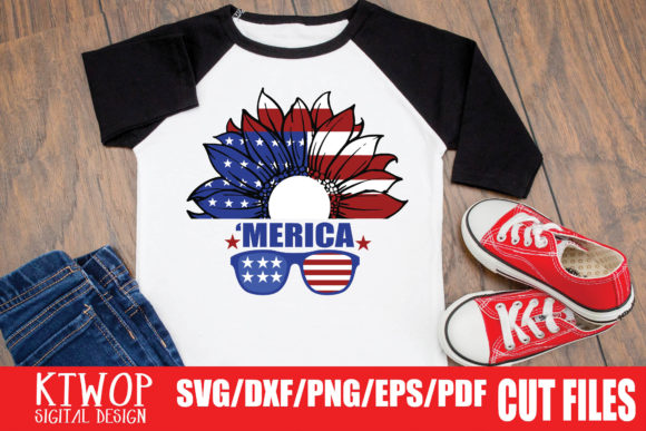 Print on Demand: Patriotic 4th of July - 20 Files Bundle Graphic Crafts By KtwoP - Image 18