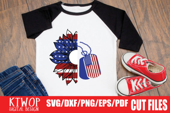 Print on Demand: Patriotic 4th of July - 20 Files Bundle Graphic Crafts By KtwoP - Image 6