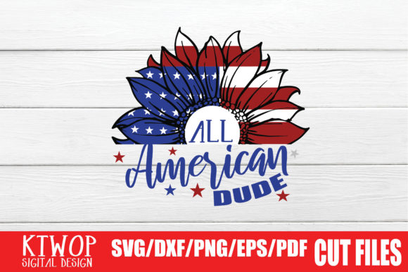 Print on Demand: All American Dude Graphic Crafts By KtwoP