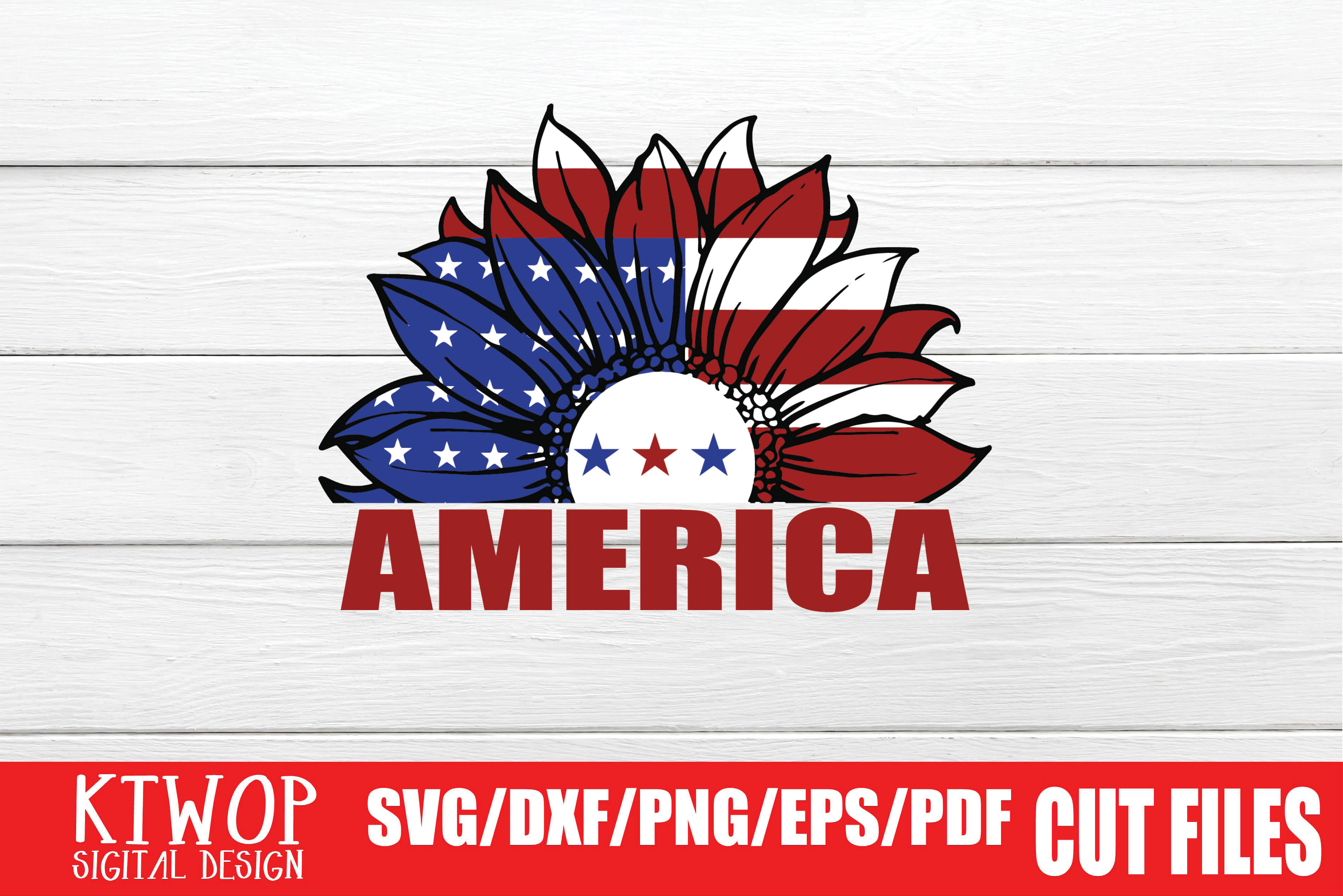 Download Free America Graphic By Ktwop Creative Fabrica for Cricut Explore, Silhouette and other cutting machines.