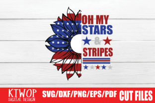 Print on Demand: Oh My Stars and Stripes Graphic Crafts By KtwoP