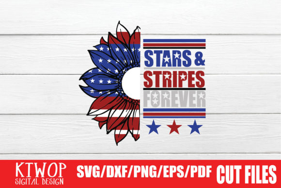 Print on Demand: Stars & Stripes Forever Graphic Crafts By KtwoP