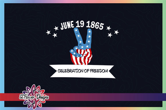 Download Free Peace America Juneteenth Freedom Graphic By Ssflower Creative SVG Cut Files