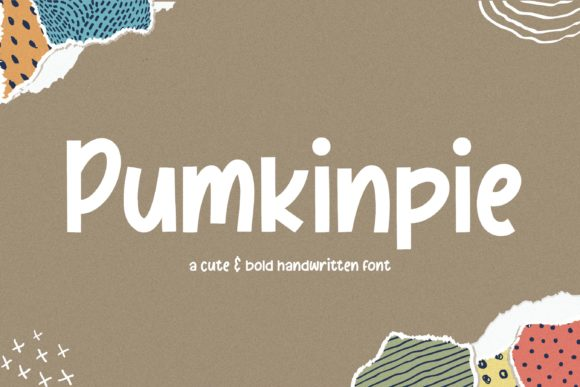 Print on Demand: Pumkinpie Script & Handwritten Font By Balpirick