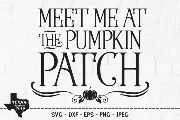 Print on Demand: Pumpkin Patch - Fall Harvest Design Graphic Crafts By texassoutherncuts