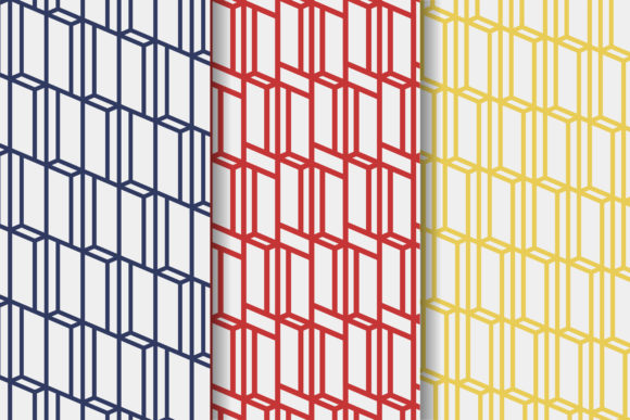 Print on Demand: Rectangle Geometric Pattern Graphic Patterns By noory.shopper