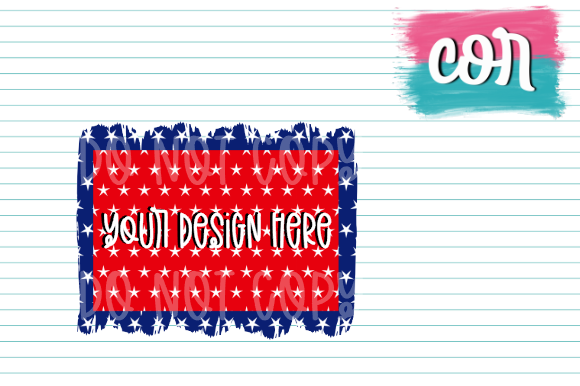 Download Free Red White Blue Design Element Graphic By Designscor Creative for Cricut Explore, Silhouette and other cutting machines.