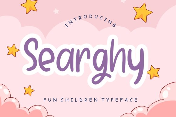 Print on Demand: Searghy Display Font By CreatypeStudio