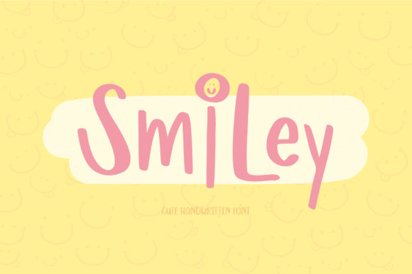 Print on Demand: Smiley Script & Handwritten Font By AquariiD