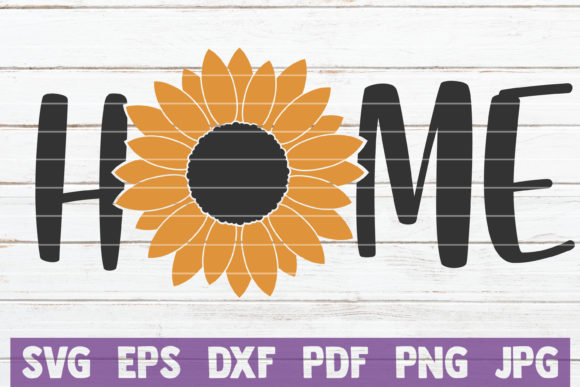 Sunflower Home Graphic Crafts By MintyMarshmallows