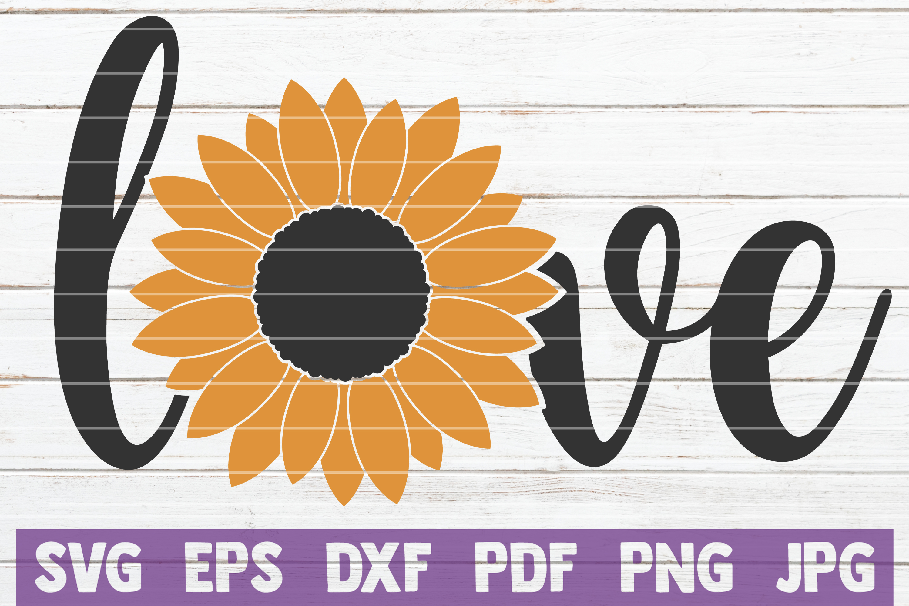 Download Free Sunflower Love Graphic By Mintymarshmallows Creative Fabrica SVG Cut Files