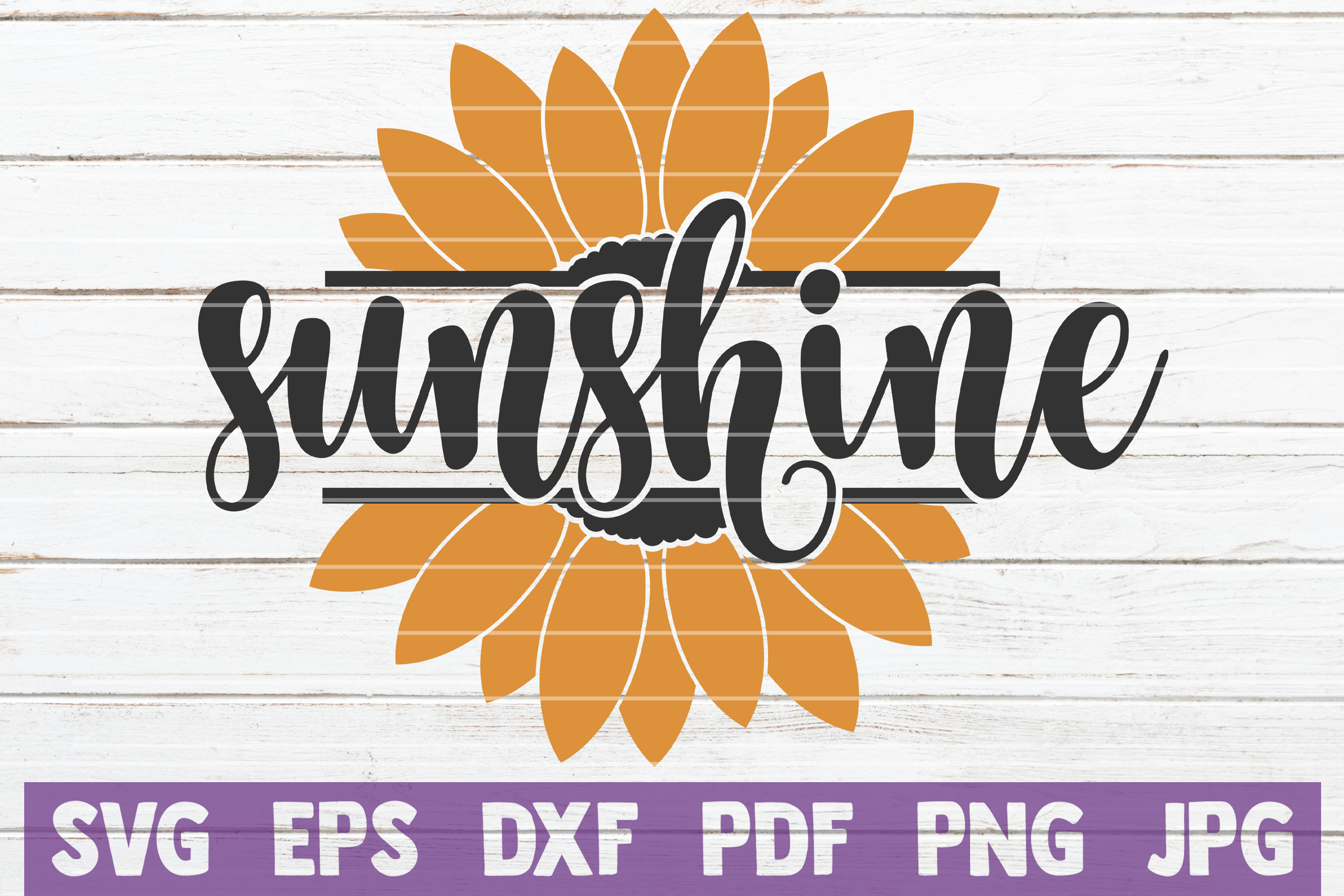 Download Free Sunflower Sunshine Graphic By Mintymarshmallows Creative Fabrica for Cricut Explore, Silhouette and other cutting machines.