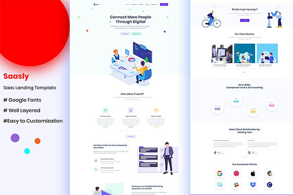 Template UI KIT for Website Graphic UX and UI Kits By artgalaxy
