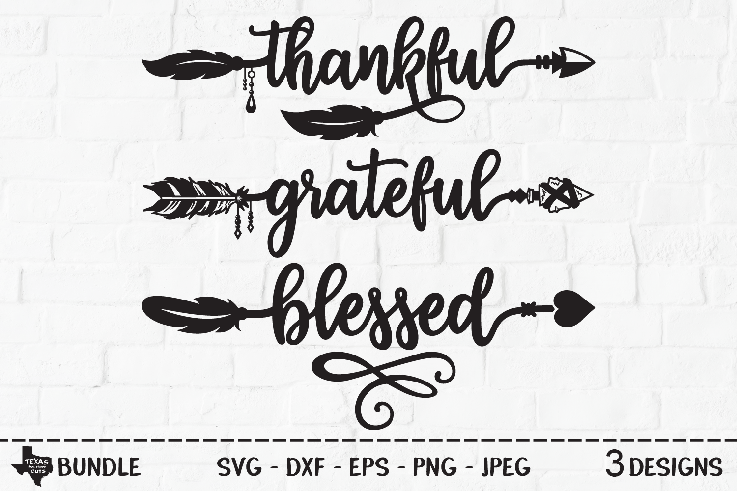 Download Free Thanksgiving Arrow Bundle Graphic By Texassoutherncuts for Cricut Explore, Silhouette and other cutting machines.