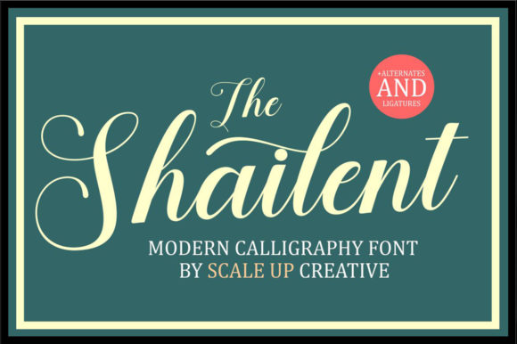 Print on Demand: The Shailent Script & Handwritten Font By creativescaleup