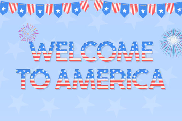 Print on Demand: The USA Display Font By Salt & Pepper Designs - Image 3