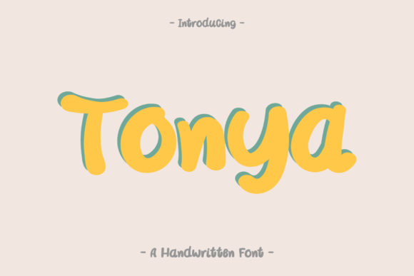 Download Free Artistic Font By Wanida Toffy Creative Fabrica for Cricut Explore, Silhouette and other cutting machines.