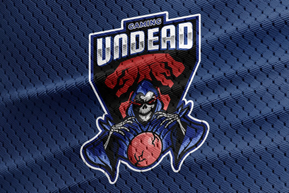 Download Free Undead Gaming Mascot For Esports Graphic By Undervector Creative Fabrica for Cricut Explore, Silhouette and other cutting machines.
