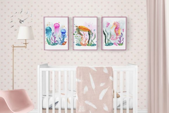 Download Free Under The Sea Collection Graphic By Andreea Eremia Design for Cricut Explore, Silhouette and other cutting machines.