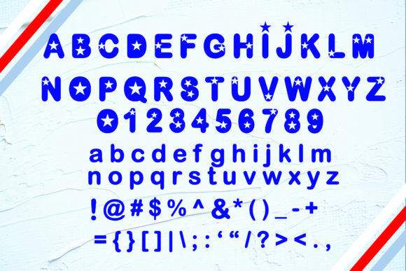 Download Free United State 4 Ever Font By Ktwop Creative Fabrica SVG Cut Files
