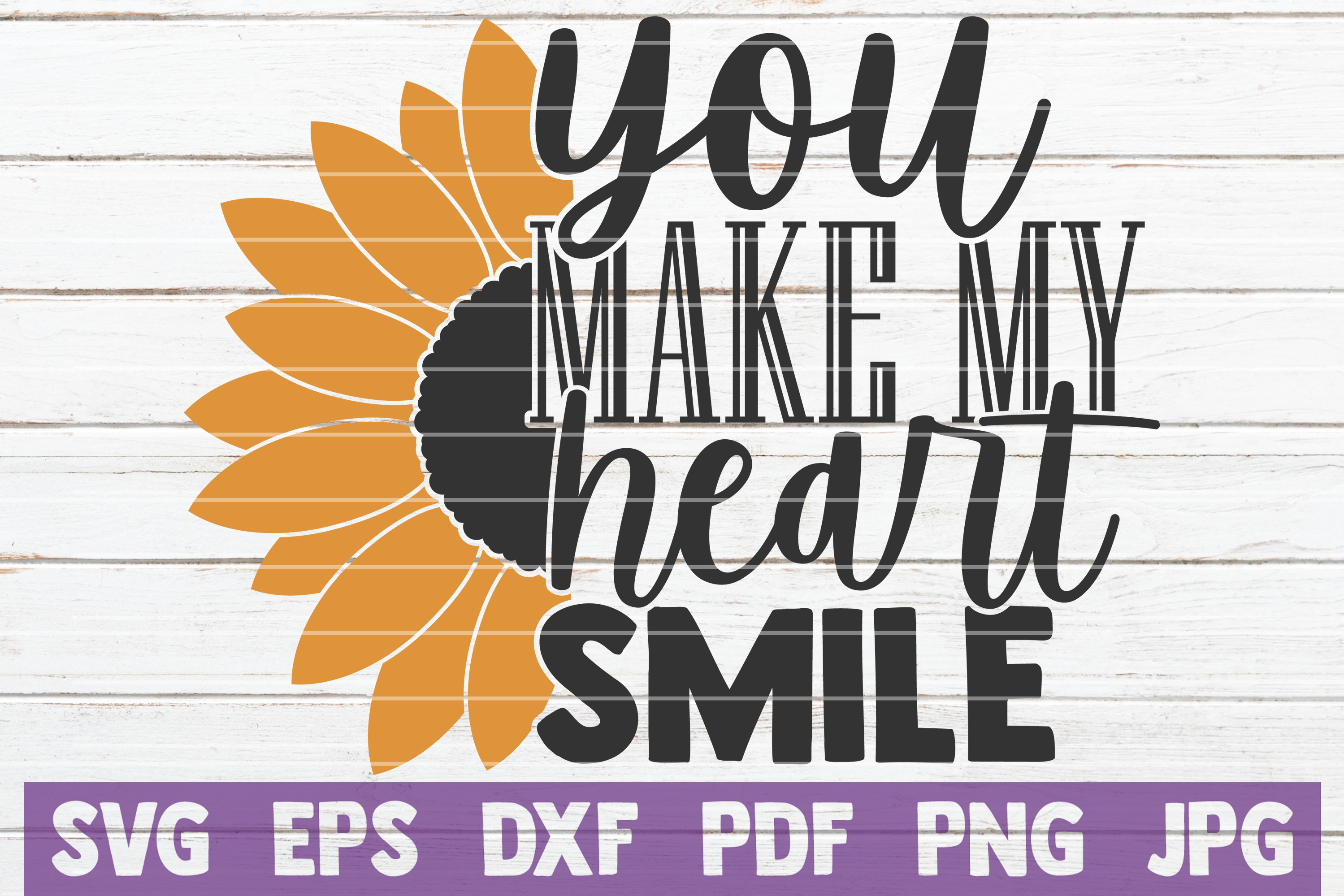 Download Free You Make My Heart Smile Graphic By Mintymarshmallows Creative for Cricut Explore, Silhouette and other cutting machines.