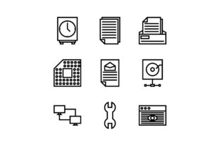 Networking Graphic Icons By muhammadfaisal40