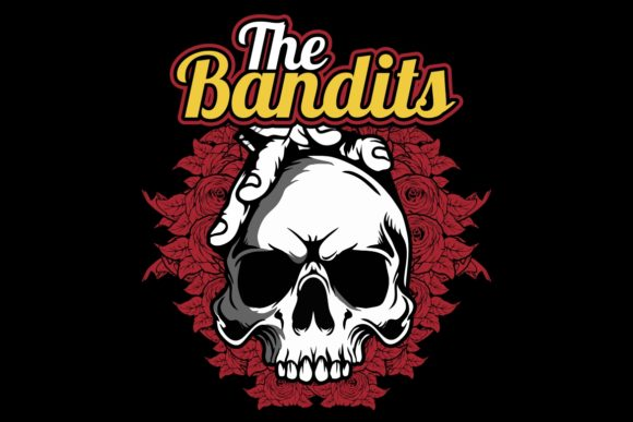 Skull The Bandits Vector Hand Drawing Graphic By Epic Graphic