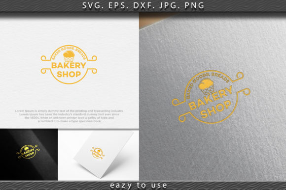 Download Free Sweet Cupcake Vintage Bakery Logo Ideas Graphic By Ojosujono96 for Cricut Explore, Silhouette and other cutting machines.