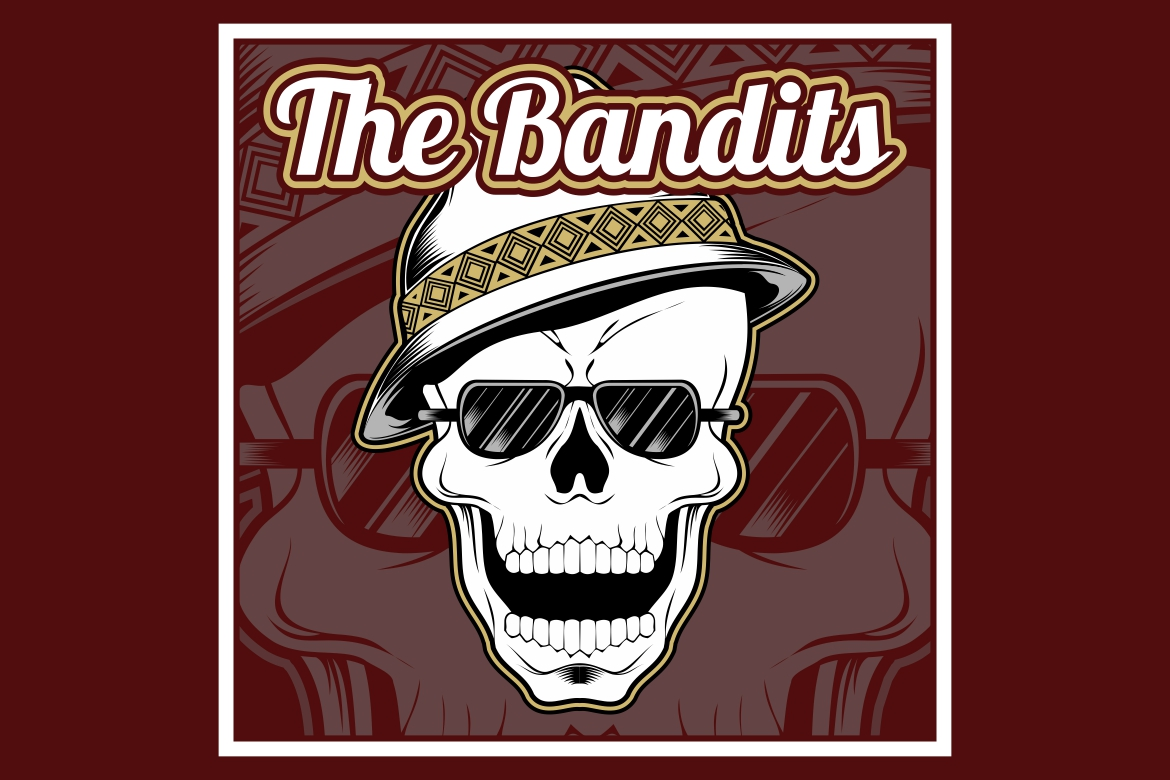 Download Free The Bandits Skull Wearing Cap Graphic By Epic Graphic Creative SVG Cut Files