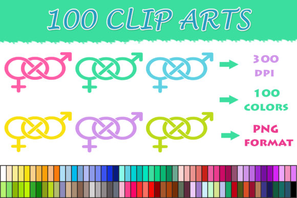 Download Free 100 Man And Woman Sign Clip Art Graphic By Sweetdesign for Cricut Explore, Silhouette and other cutting machines.